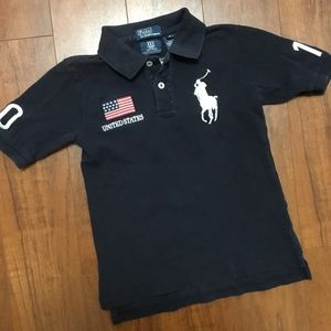 Polo Ralph Lauren Boys 6 Olympic Polo 2010 Canada